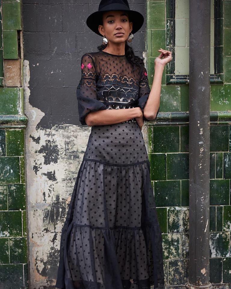 71c8a9f4c67c Prix Midi Dress in 2019 | So Fresh + So Clean | Dresses, Black midi ...