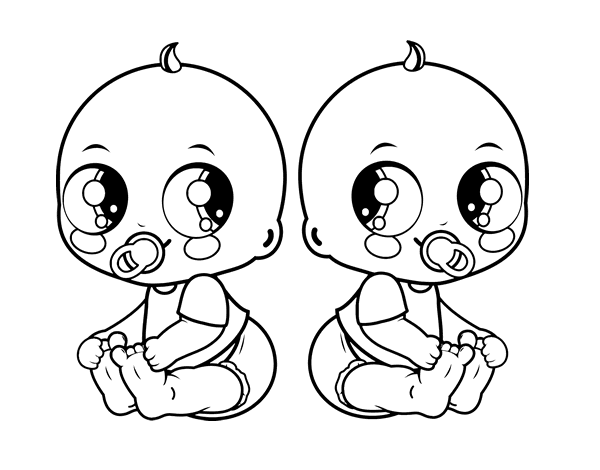 tricycle coloring page to color print or download description from familycoloringcrew - Babies Coloring Pages