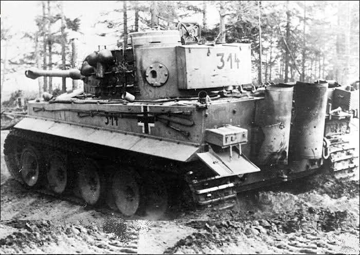 TIGER 314 | WORLD WAR 2 IN COLOR | Ww2 tanks, Tank destroyer