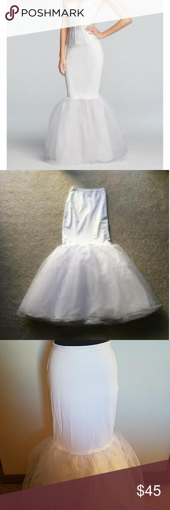 Wedding dress slip  NEW Davidus Bridal Trumpet Slip  Trumpets Glamour and Gowns