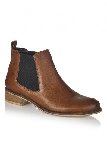 dada84f3e0d1 LTS Chelsea Leather Ankle Boots for Tall Women