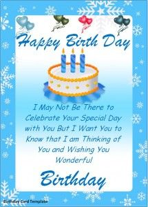 Beautiful Happy Birthday Card Visit The Site To Download It In Editable Format