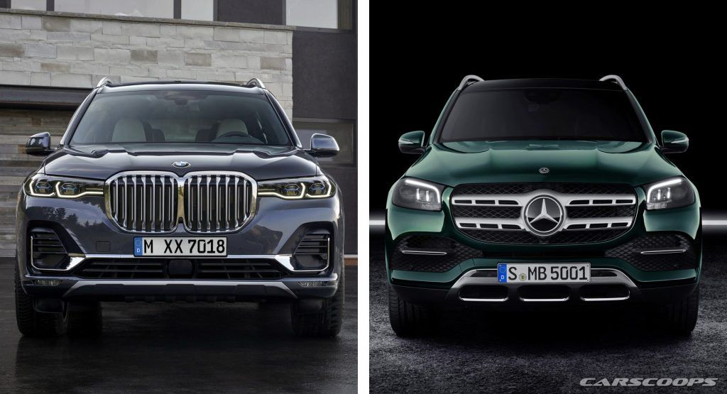 2020 Mercedes Gls Vs 2019 Bmw X7 Which Side Are You On Bmw X7 Bmw Mercedes