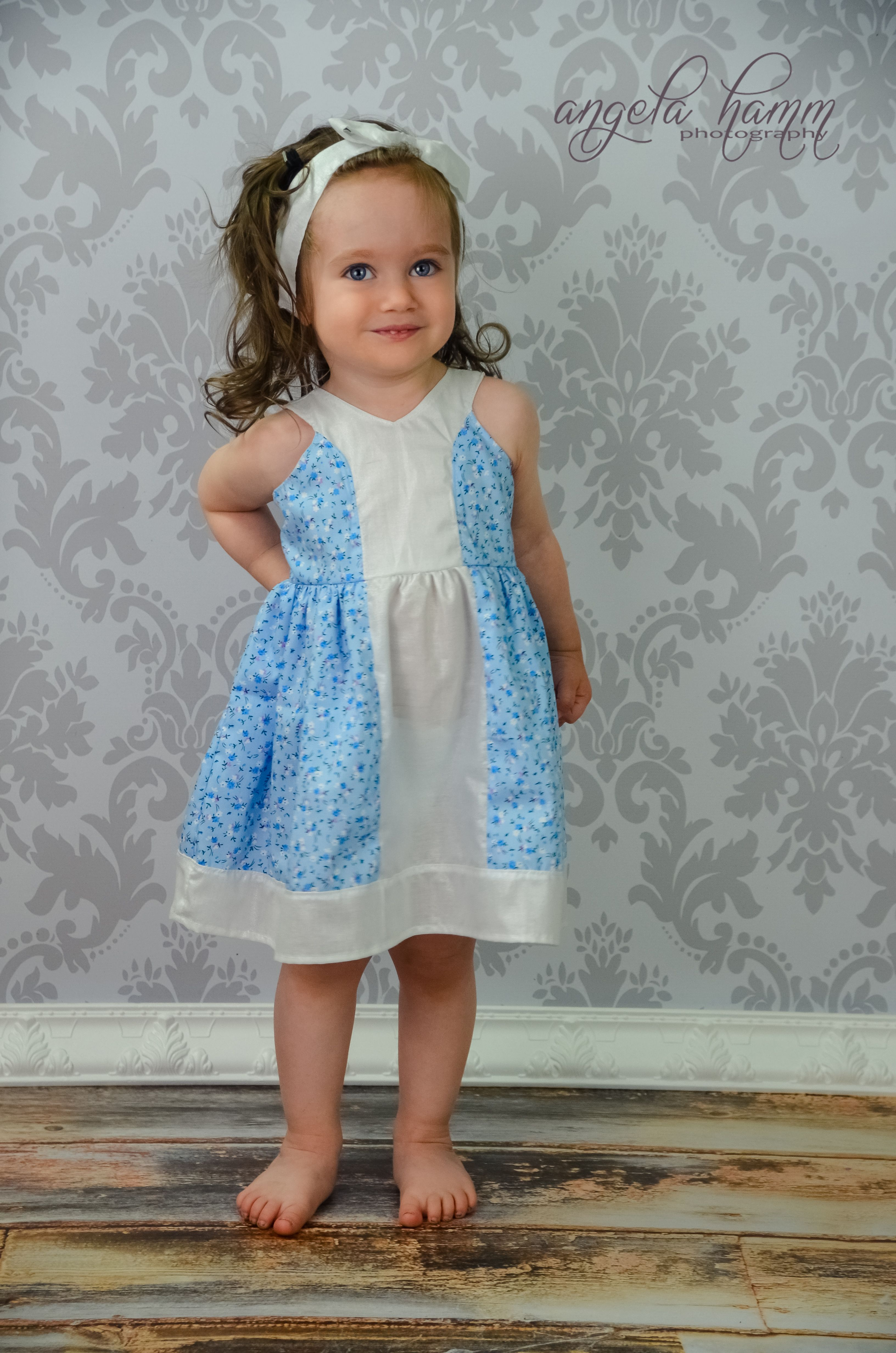 The Block Party Dress & Tunic, a PDF sewing pattern by Mandy K ...