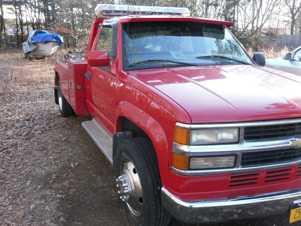 eBay Sponsored 2000 Cherolet HD 3500 6.5 Turbo Tow Truck