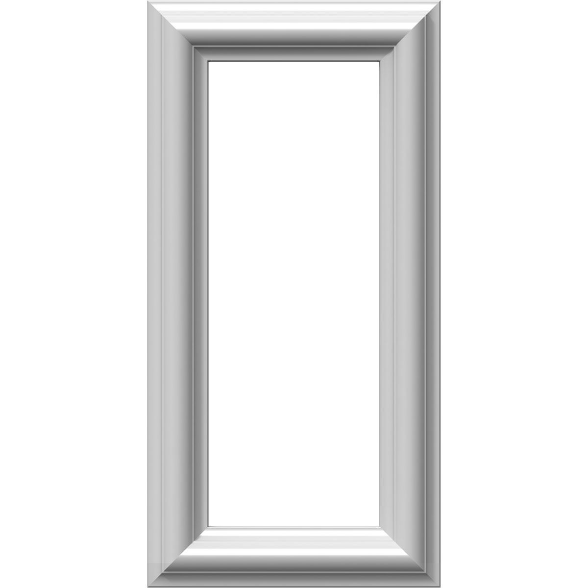 8 W X 16 H X 1 2 P Ashford Molded Classic Wainscot Wall Panel Wainscoting Panels Wainscoting Picture Frame Wainscoting