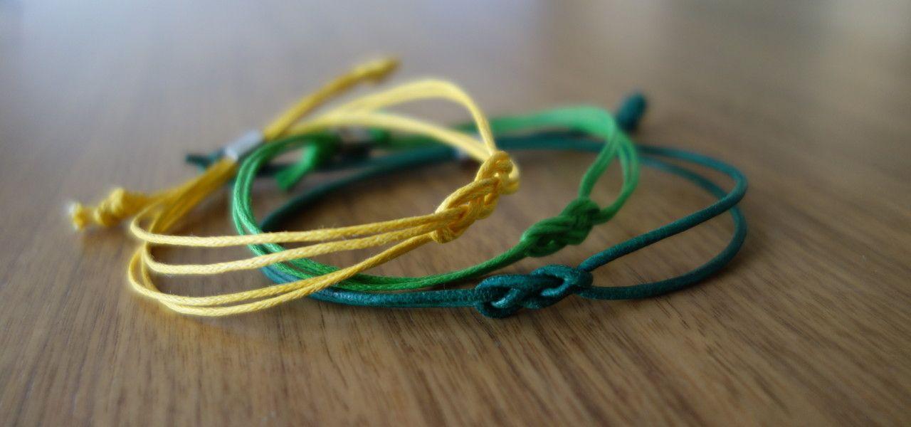 Do-It-Yourself-Anleitung: cooles Seemannsknoten-Armband als Geschenk selber machen