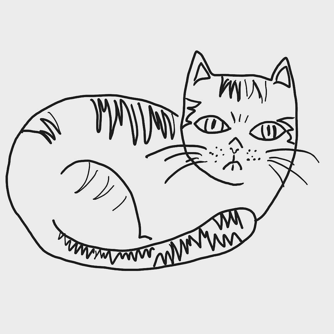 A new sketch #cat #tile idea