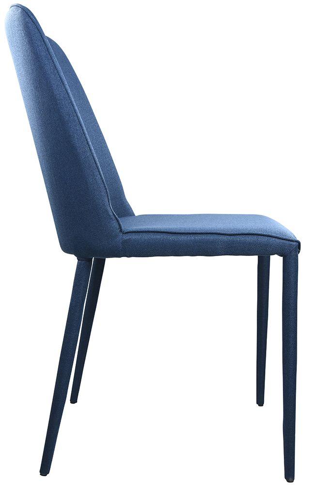 Alaska Dining Chair Dark Blue Matt Blatt Dining Chairs