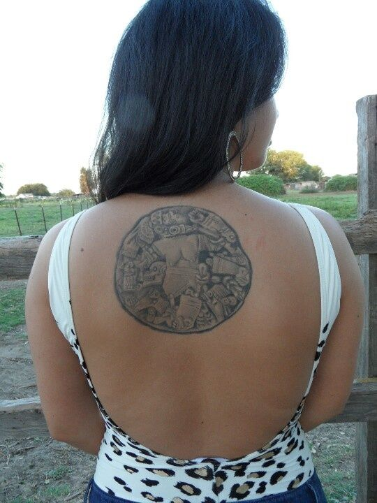 Aztec Moon Goddess Tattoo | Art that inspires | Aztec ...