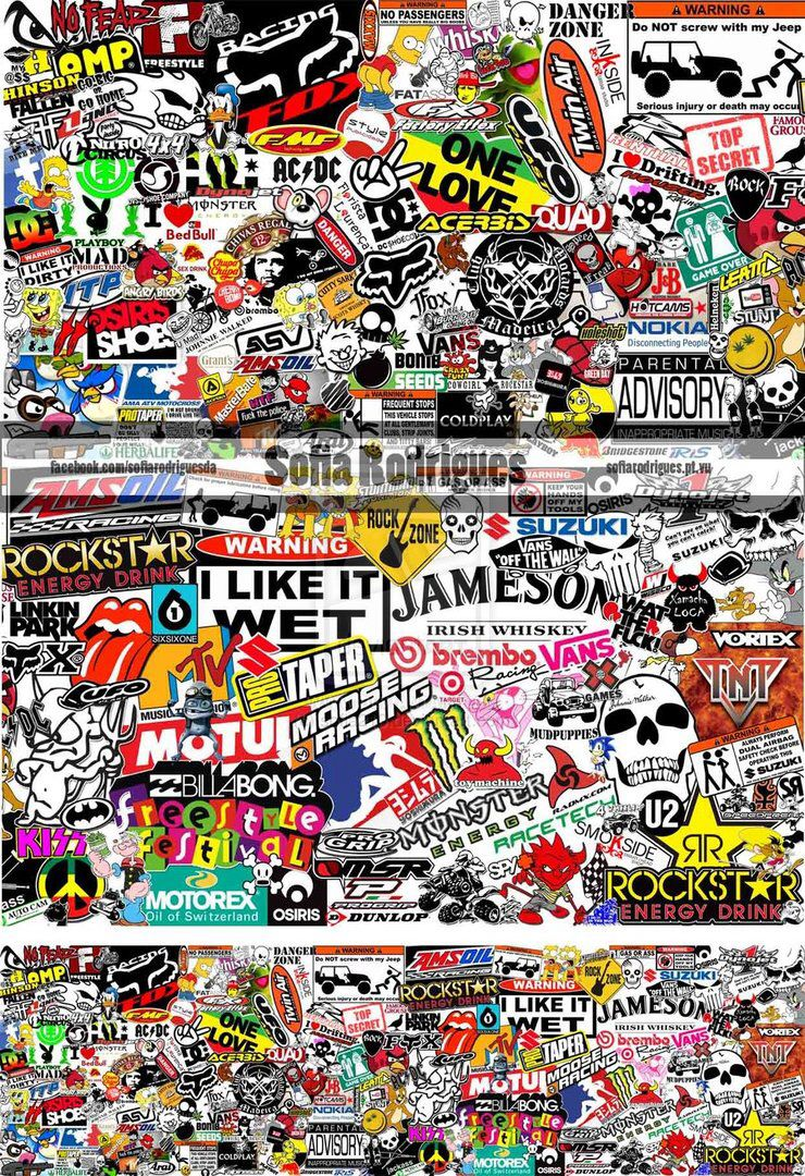 Easy dirt bike drawing images amp pictures becuo - Sticker Bomb