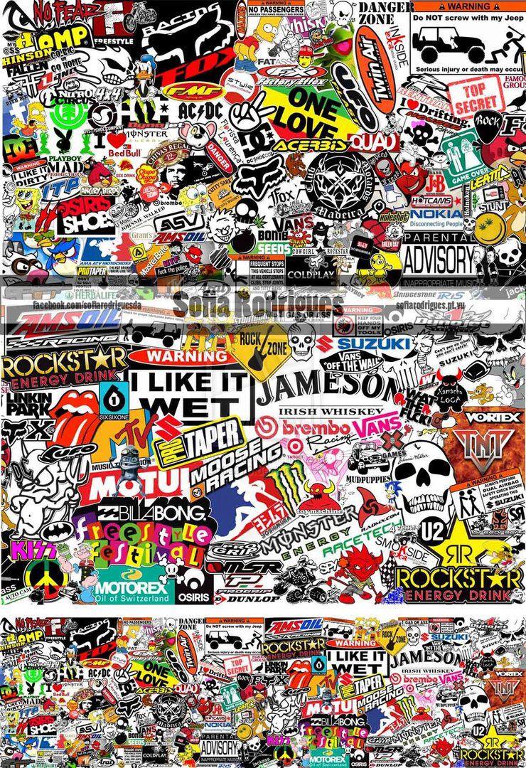 Sticker bomb sticker bomb wallpaper screen wallpaper mobile wallpaper iphone wallpaper nike