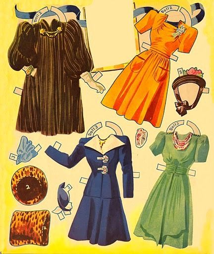 Glamorous Movie Star Paper Dolls and Costumes Alice Faye