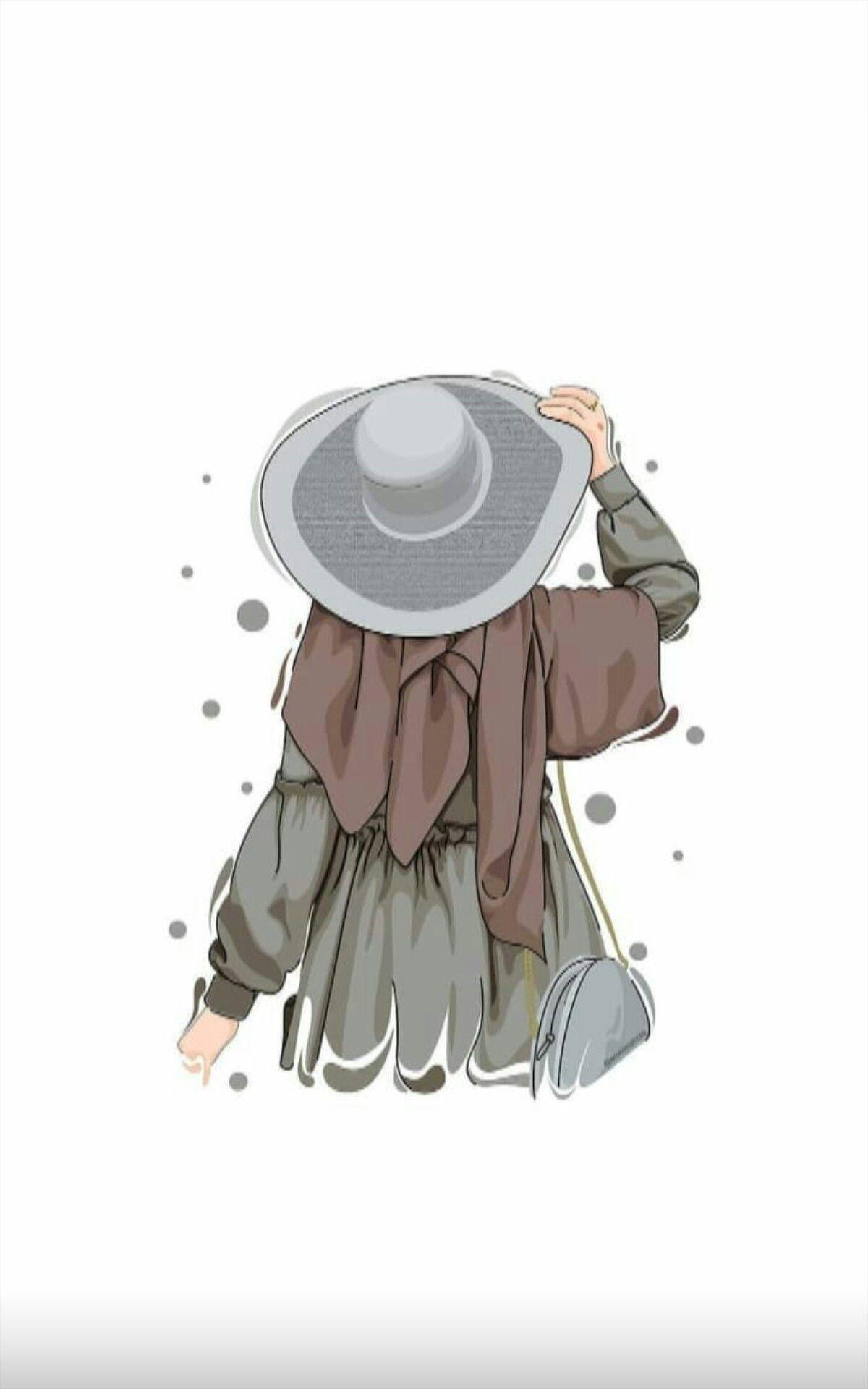Tesetturlu Kiz Resmi Di 2020 Ilustrasi Karakter Animasi Seni Animasi