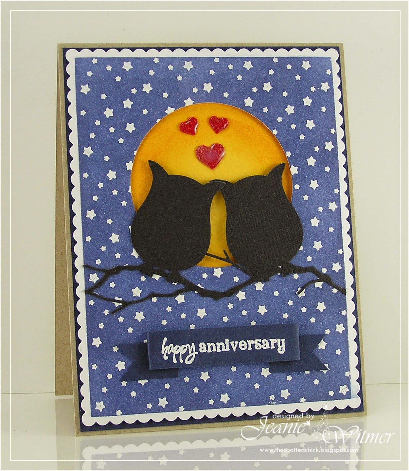Happy Anniversary! Owl cards 50th anniversary cards