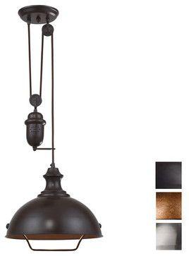 Farmhouse Adjule Pendant Lighting Houston By Whispar Design