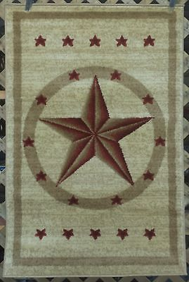 Western Texas Star Country Rustic Southwest Lodge Cabin Area Rugs Carpets Rug Hooking Patterns Rugs On Carpet Rugs