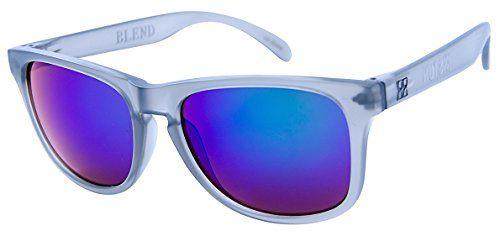 STUN Blend Grey Abyss Wayfarer Sunglasses Frosted Grey