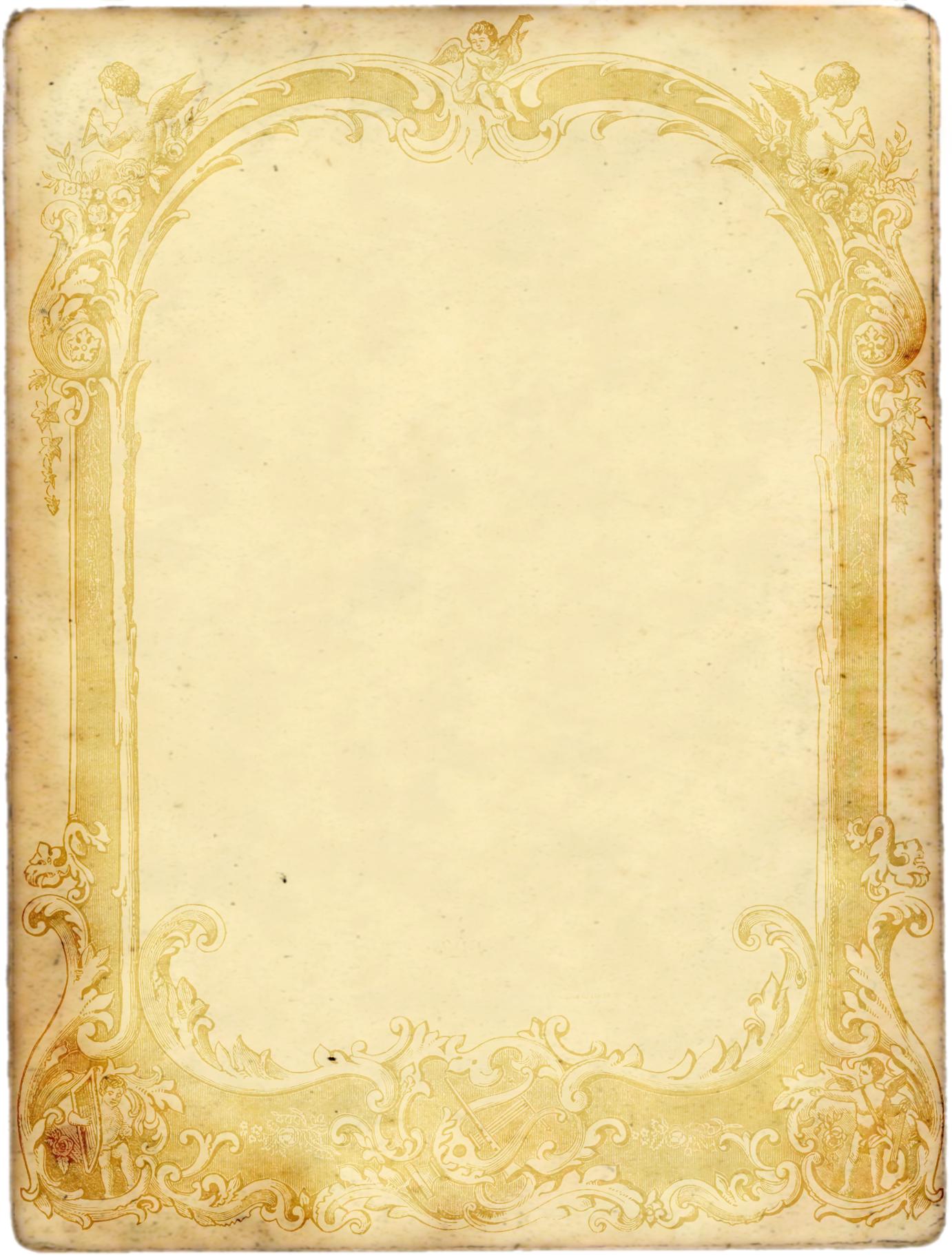 Шаблоны для фотошоп приглашения старинные грамоты