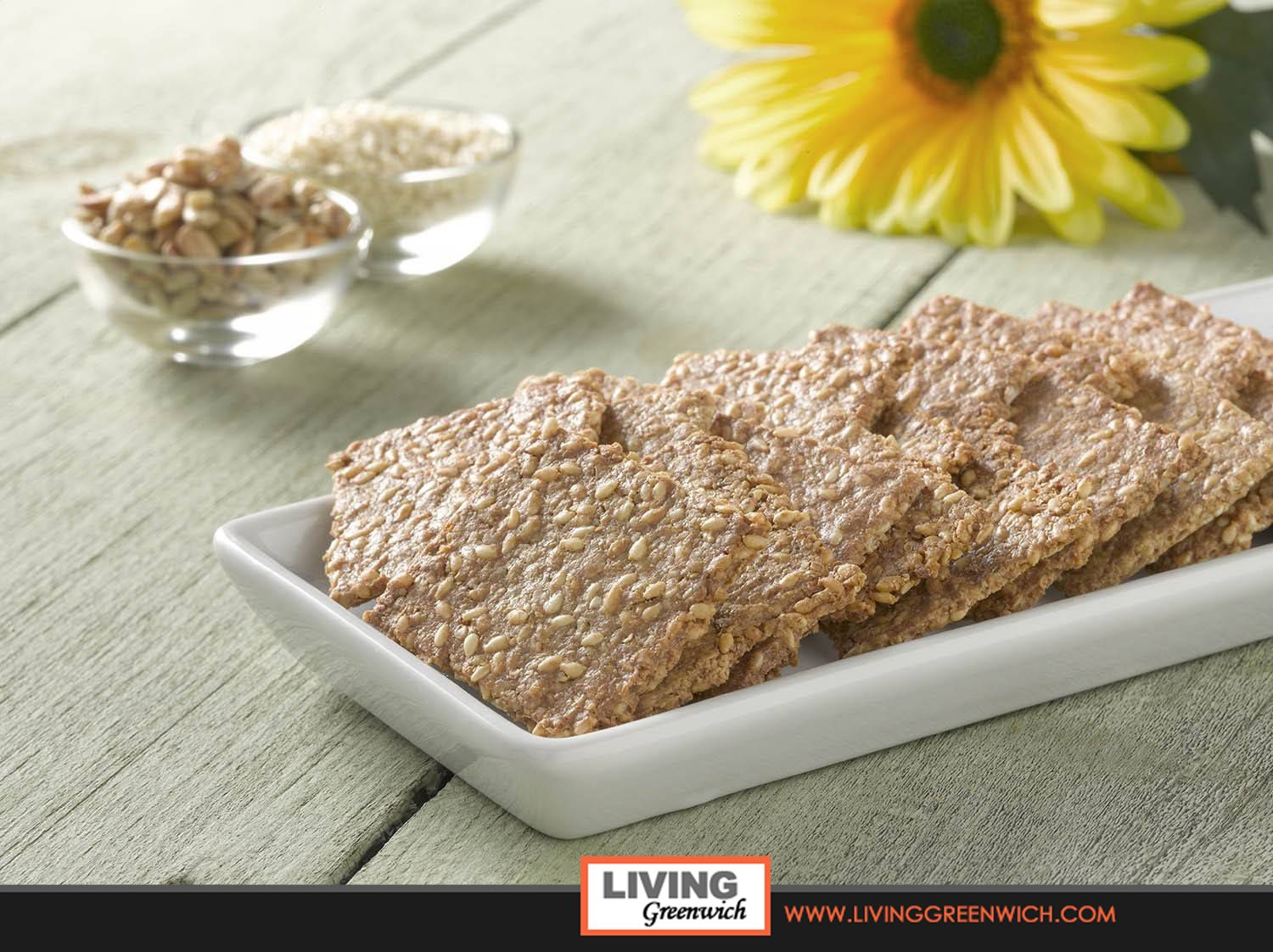 Have you tried these Paleo-friendly and gluten-free crackers made right here in Greenwich? These crackers by Emilie's Kitchen of Greenwich have been making a big impression throughout Fairfield and Westchester Counties. And now, Living Greenwich is offering this exclusive promotion for you to give them a try...now with Free Shipping! http://www.livinggreenwich.com/shop.html  #Greenwich #Connecticut
