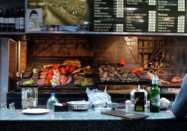 Restaurantes en el Mercado del Puerto