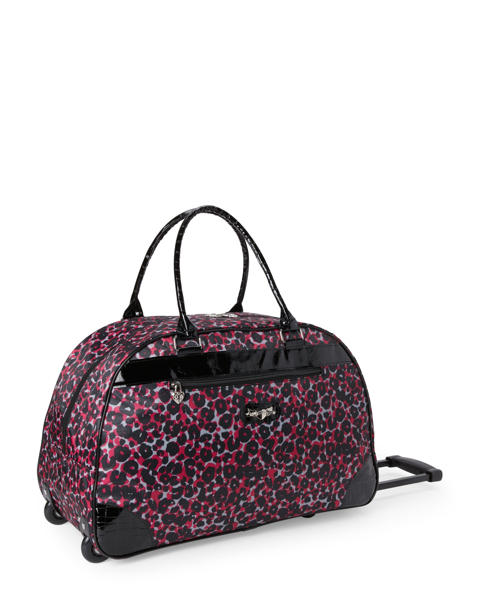 Kathy Van Zeeland Cheetah Weekend Roller Bag | *Luggage & Bags ...