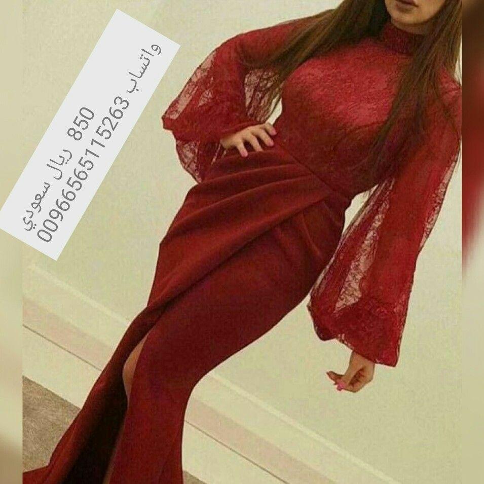 متخصصون في تفصيل اجمل فساتين الزفاف والسهرة للطلب واتساب00966565115263 Lace Evening Dress Long Long Sleeve Evening Dresses Long Sleeve Prom Dress Lace