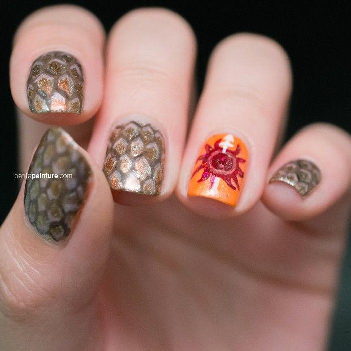 Game Of Thrones 7 Kingdoms Nail Art | Nail nail, Hair make up and ...