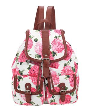 Beautiful backpack to back to school in pink