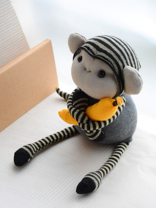 sock monkey                                                                                                                                                                                 More #sockmoneky