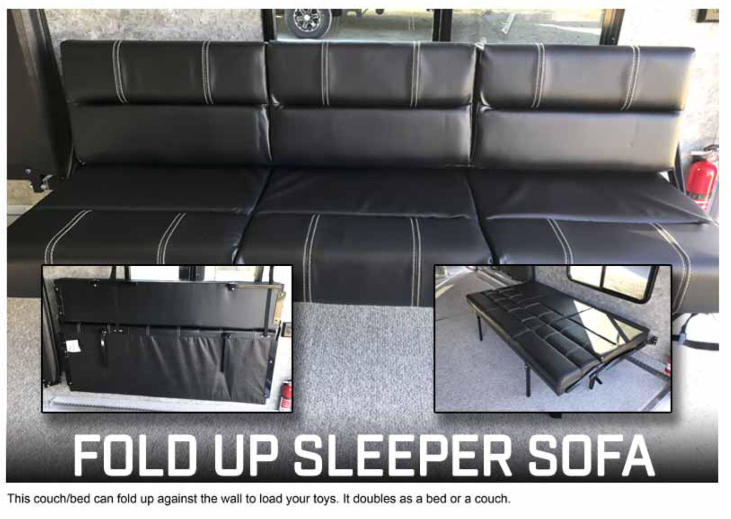 """OPTION: 6-foot Sofa - Fold Up Sleeper - Sleeper 4 ½""""D x 41""""W ..."""