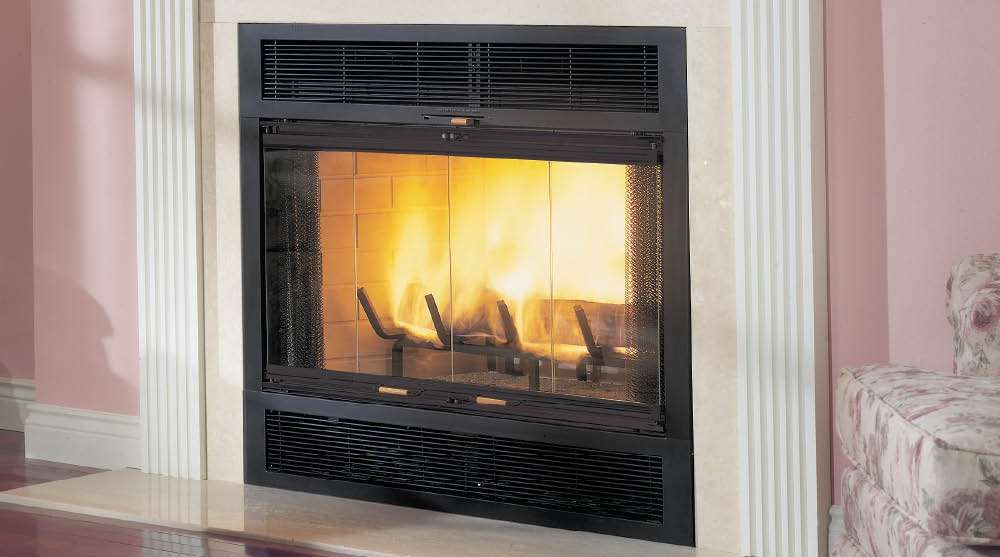 Wood Burning Fireplace Insert With Blower Tupelo Tea Party Fireplace Inserts Wood Burning With