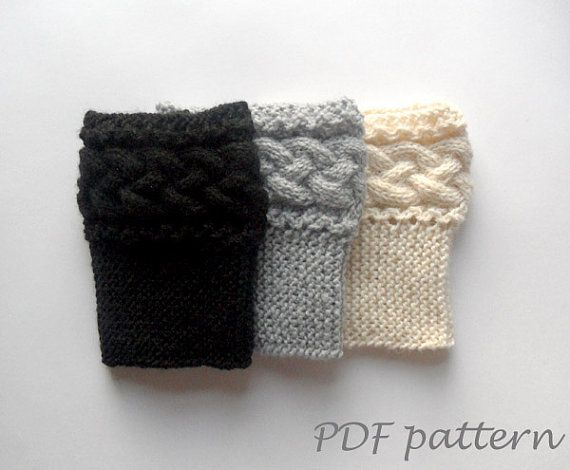 Pdf Knit Pattern Braided Boot Toppers Cable Knit Boot Cuffs Pattern Boot Socks Pattern Kn Sock Knitting Patterns Knit Boot Cuffs Pattern Cable Knit Boot Cuff