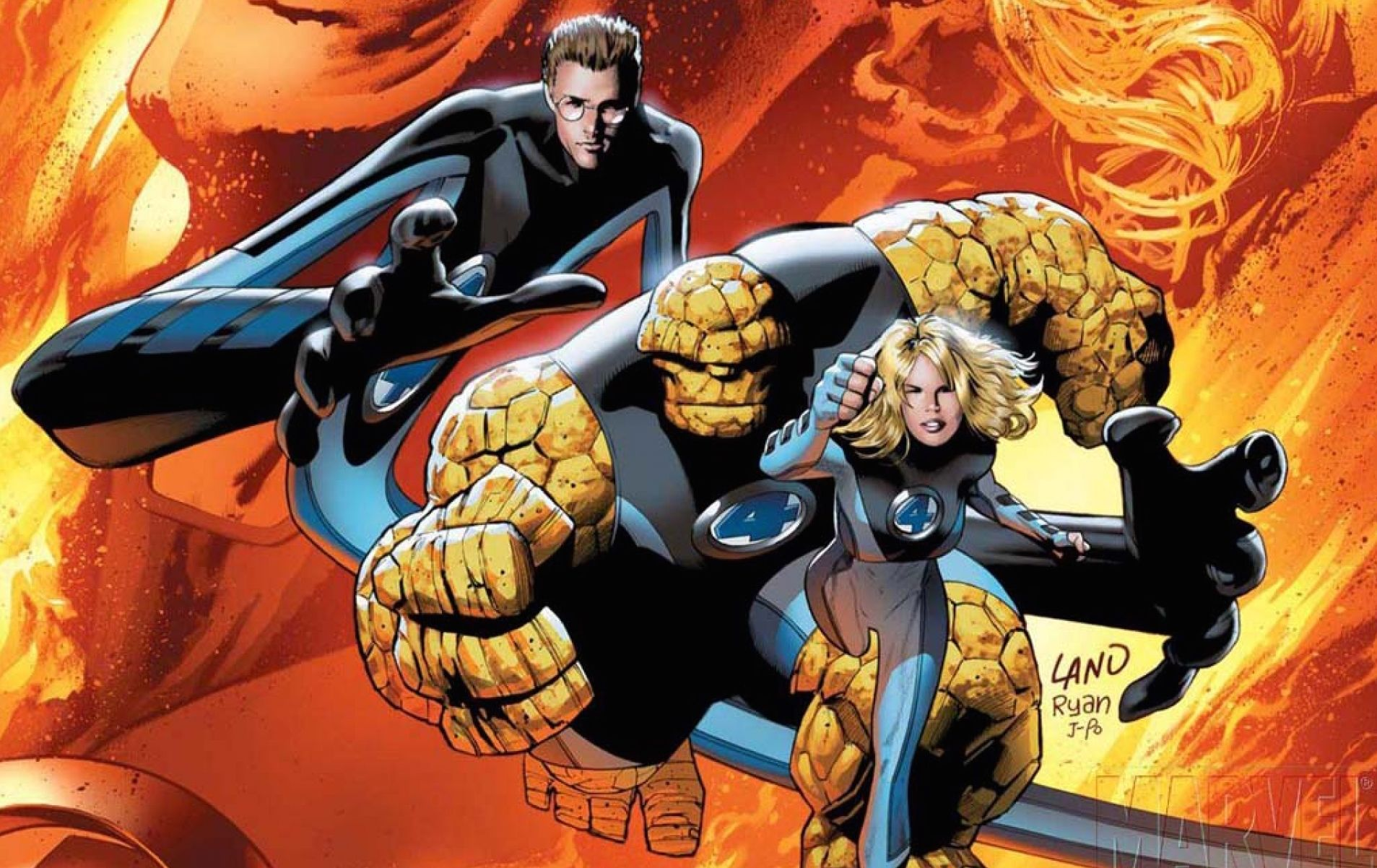 Fantastic Four Wallpaper Hd Fantastic Four Comics Marvel Comics Wallpaper Fantastic Four