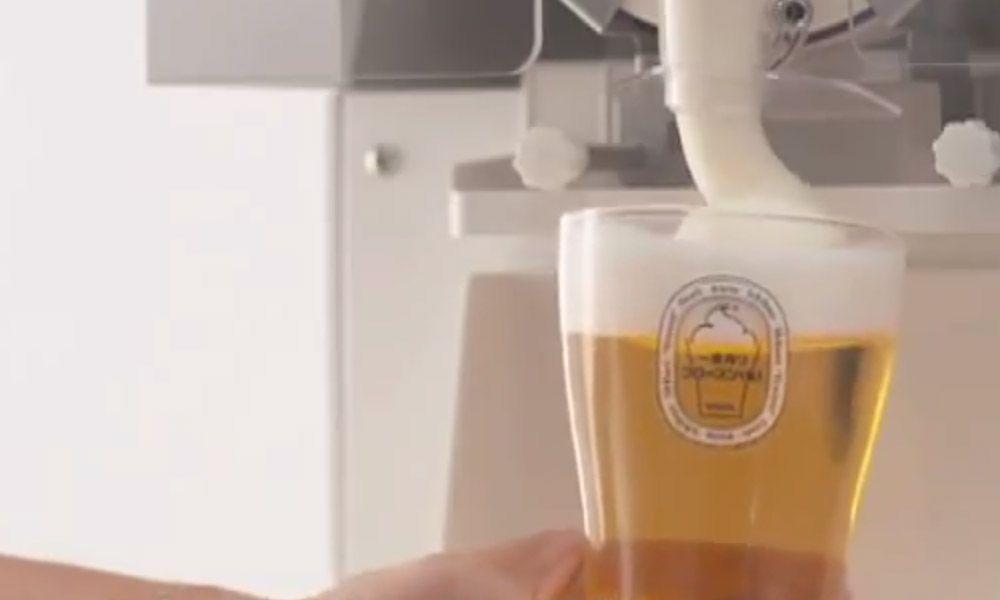 colarinho de cerveja que conserva a temperatura da cerveja por mais tempo