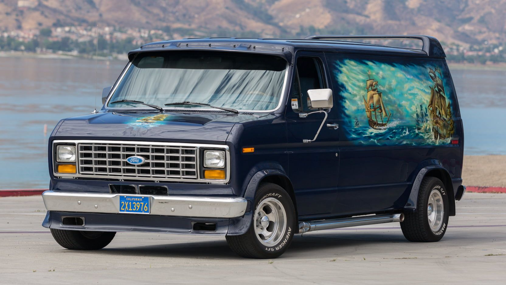 1986 Ford Econoline Van T91 1 Las Vegas 2017 With Images