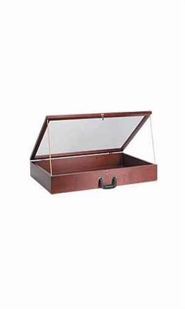 Cherry Wood Countertop Display Cases Small Wooden Display