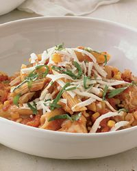 Mexican-Style Chicken with Penne from Food & Wine