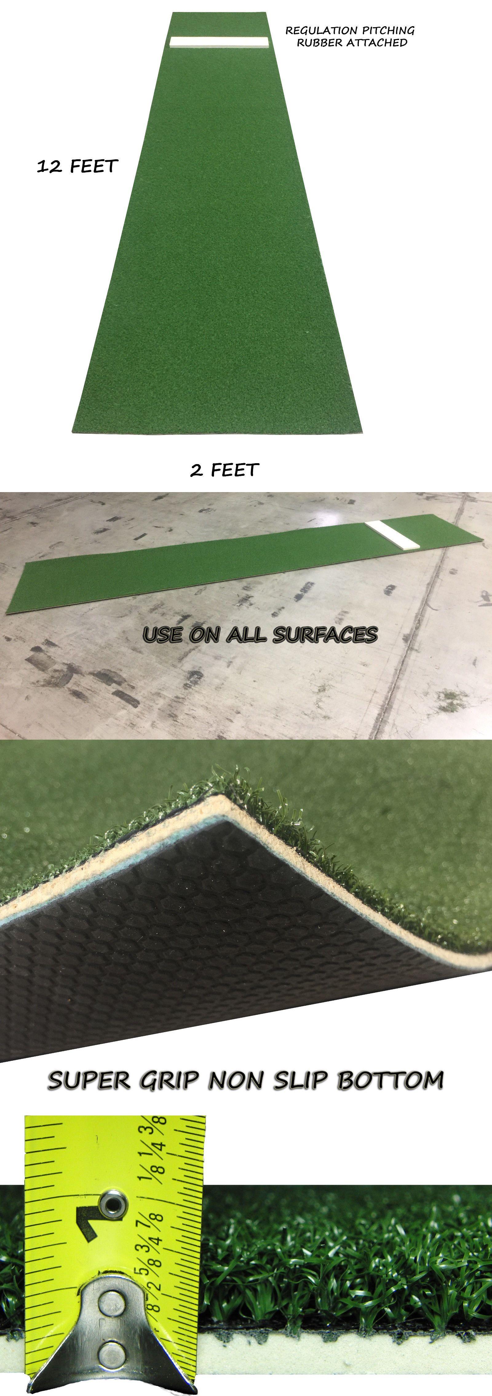 other baseball training aids 181332 2 x 12 green baseball