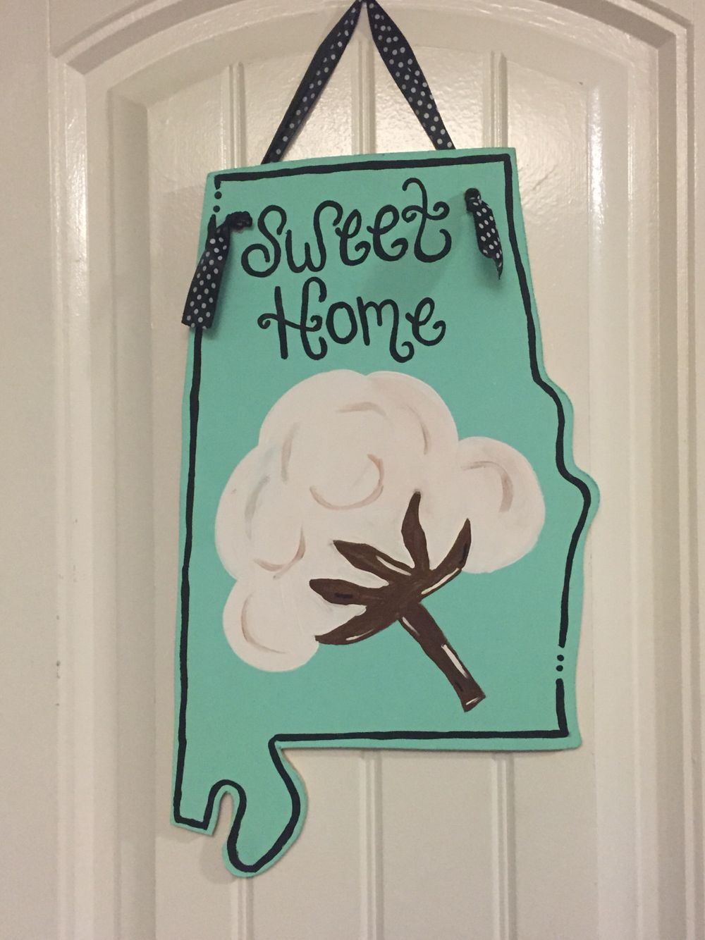 Sweet Home Alabama wooden door hanger $45 shipped. & Sweet Home Alabama wooden door hanger $45 shipped. | Door hangers ... pezcame.com