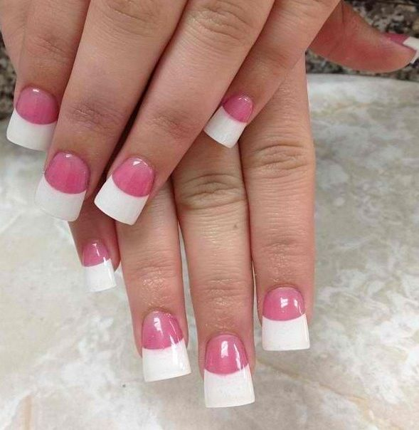 Pin By Megan Reid On Hair Makeup Flare Nails Curved Nails Duck Nails