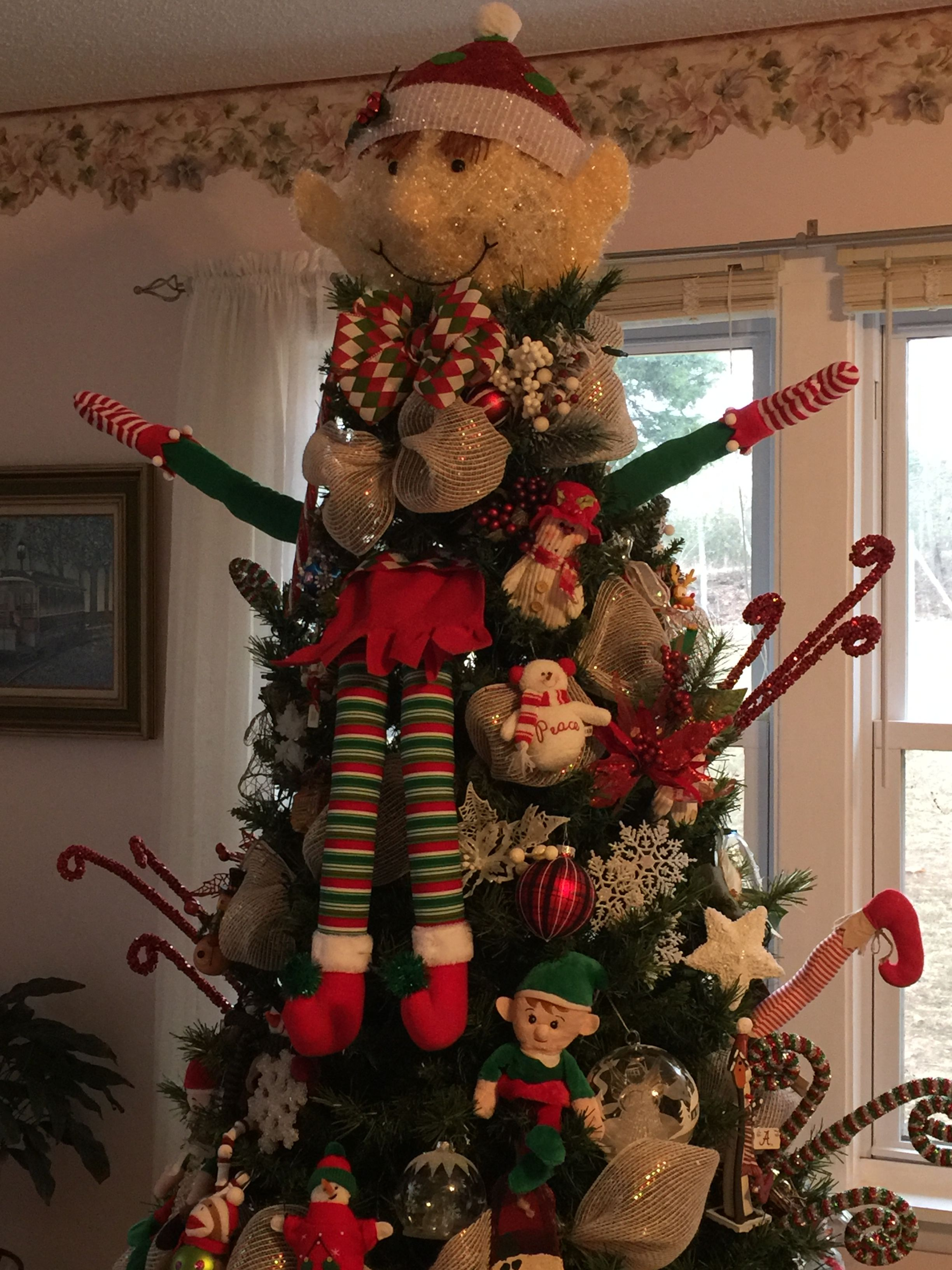 Elmer The Elf That Sits In My Christmas Tree