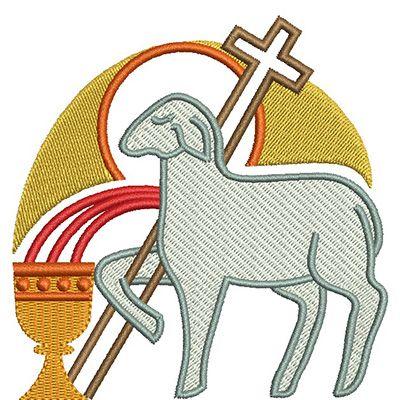 Cordeiros Tapete De Corpus Christi Desenho Religioso E Corpus