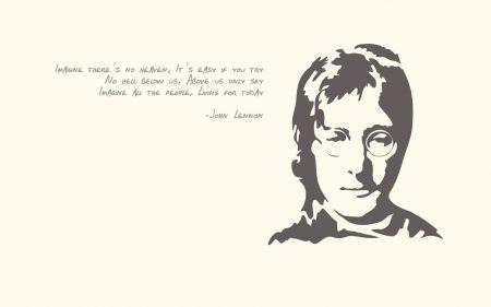John Lennon Imagine Agnostic Peace Peace On Earth Lennon John Beatles Atheist Song Atheism Imagine Lyrics Freethinking John Lennon