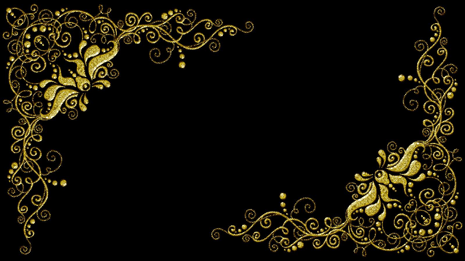 Molduras Arabescos 21 Png 1600 900 Molduras Para Convites Molduras Para Convites De Casamento Convites Dourados