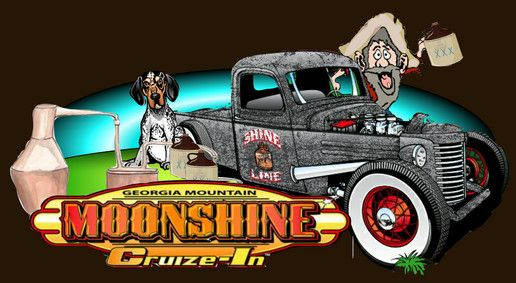 August 8-9th, 2013 Moonshine Cruise in and swap meet Hiawassee Ga