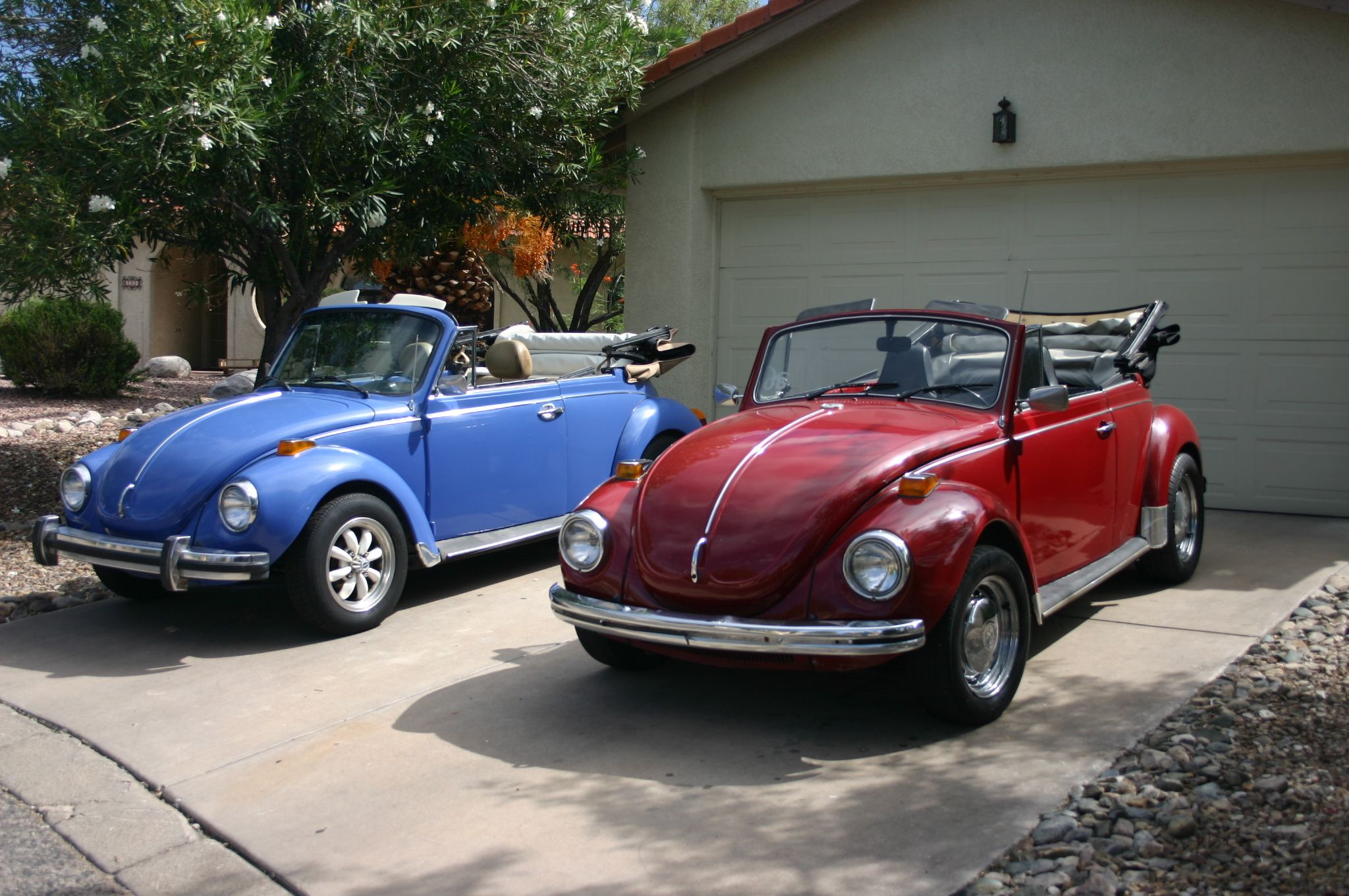 His and Hers VW Convertible Beetles - Maybe this will be ...