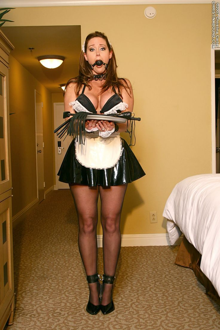 wife French maid submissive