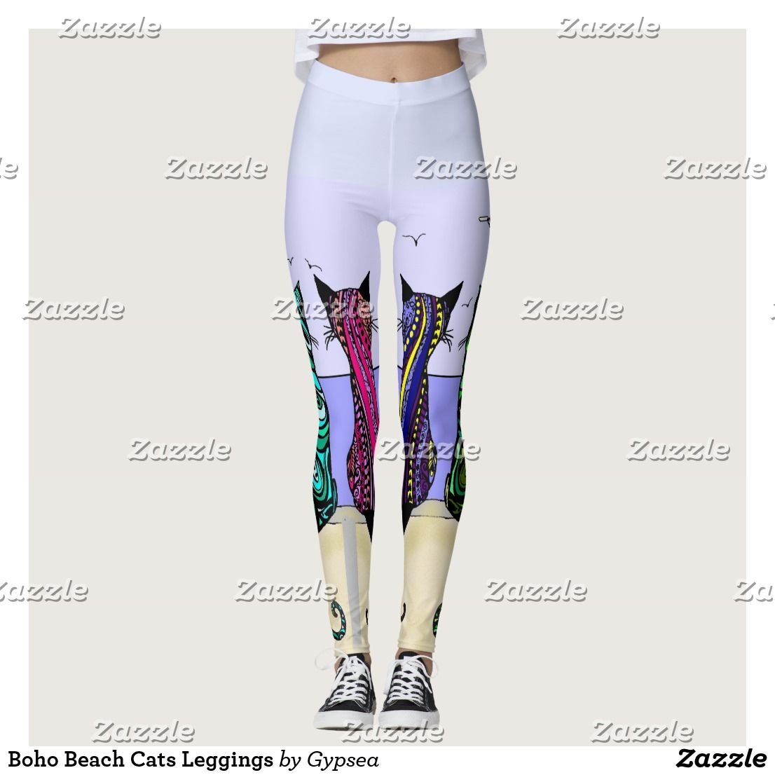 Boho Beach Cats Leggings (With Images)