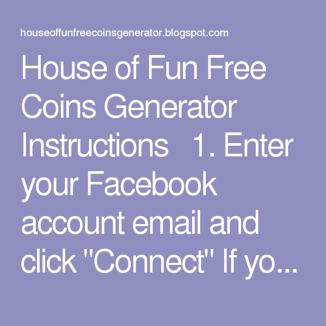 House Of Fun Slot Machines Free Coins Online Generator Free Slots Casino Free Casino Slot Games Coins